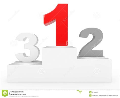 Or 3 In 1 E 1st 2nd and 3rd place stock photos image 17163493