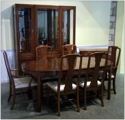 ethan allen dining room set craigslist chairs home