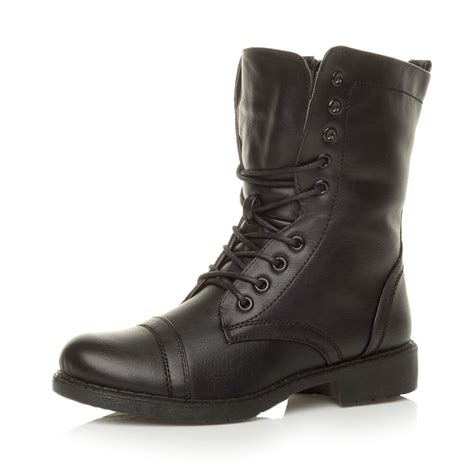 womens work army combat boots size ebay