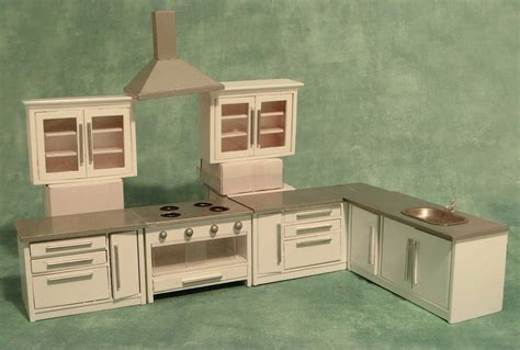 dolls house kitchen units maple street buy complete furniture sets