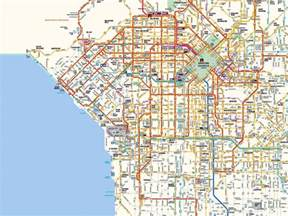 map to los angeles california west los angeles starbucks and map los angeles ca