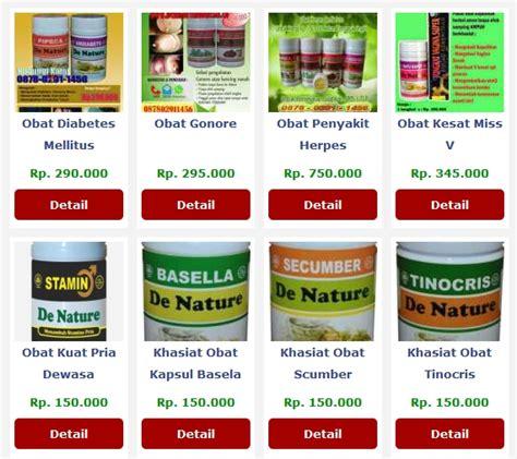 De Nature Obat Gout Alami Uh Aman katalog produk herbal de nature spesialis obat penyakit