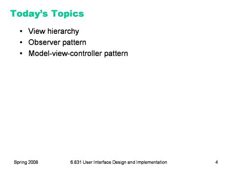 ui observer pattern 6 831 l3 ui software architecture