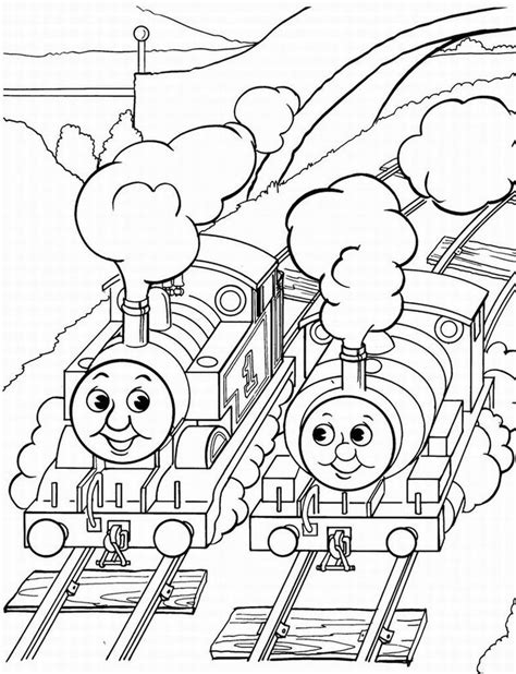 free coloring pages of trains coloring home