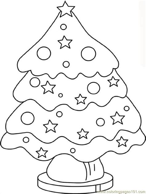 christmas tree coloring page online coloring pages christmas tree2 natural world gt trees