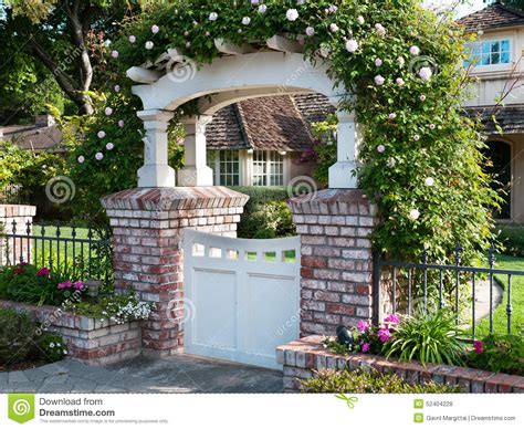 Beach House Plans Free decorative gate with roses flowers amp nature background