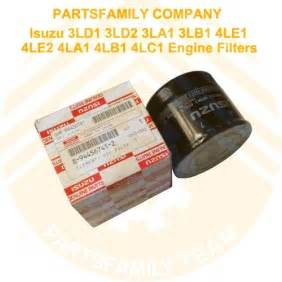 Isuzu Filter Cross Reference Isuzu Filters Isuzu Free Engine Image For User