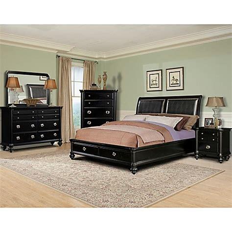 bed bath and beyond danbury ct buy klaussner danbury 5 piece queen bedroom set in black