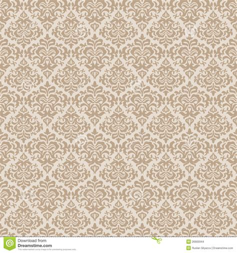 pattern background beige beige wallpaper pattern stock vector image of flora