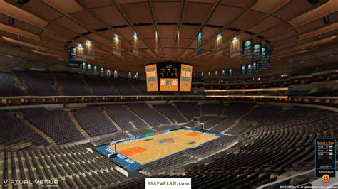 Section 221 Msg by Square Garden Seating Chart Section 221 View Mapaplan