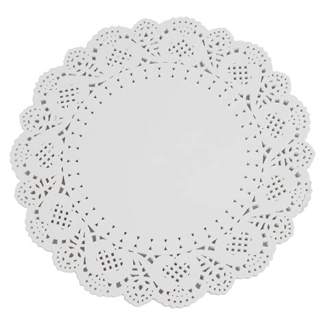 How To Make Lace Paper - white paper lace doilies 5 sizes wedding doily