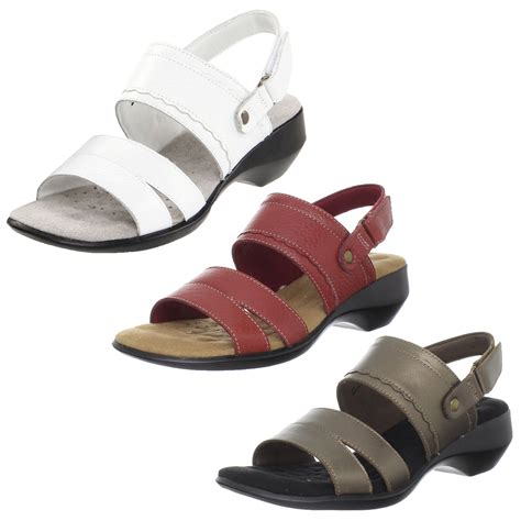 S Comfort Sandals Walking by Walking Cradles Lake 2 Womens Leather Slingback Comfort