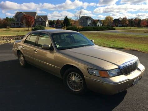buy used 2000 mercury marquis limited in waldorf maryland united states