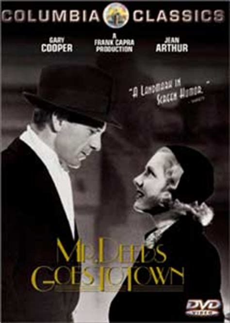 Watch Mr Deeds Goes Town 1936 Full Movie Doc Dvd Review Mr Deeds Goes To Town 1936