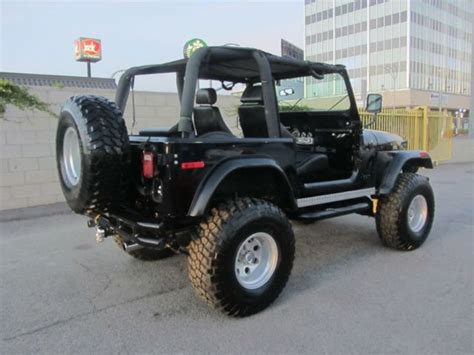 Lifted Jeep Cj7 For Sale 1980 Jeep Cj7 Lifted Clean For Sale Jeep Cj