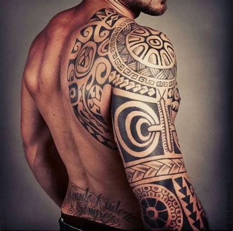 tattoo polynesian pictures polynesian sleeve tattoo of the beautiful man tattoo