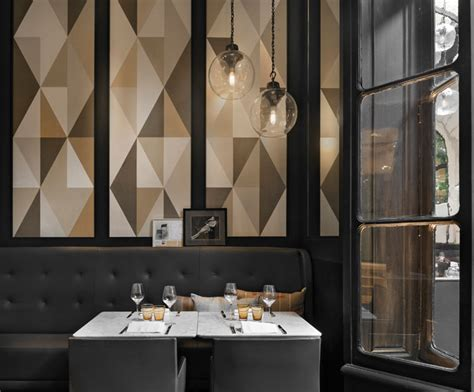 cafe classic interior design italian restaurant caf 233 artcurial opens with refreshed