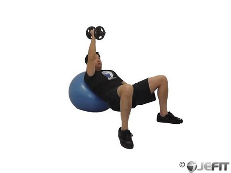 exercise ball bench press cable one arm decline chest fly exercise database