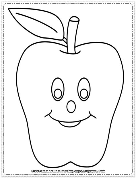 apple coloring pages to print apple fruit coloring pages printable free printable kids
