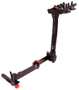 yakima fullswing 4 bike rack 2 quot hitches swinging