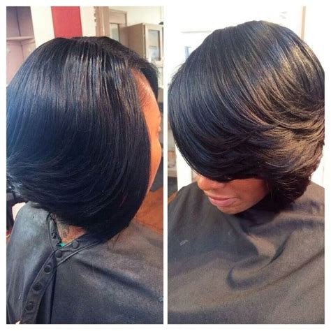 layered bob haircut american 17 best images about african american hairstyles on