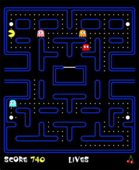 pacman play gotoandplay flash tutorials and development