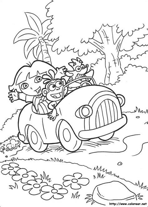 dibujos para colorear de dora la exploradora dibujos de dora la exploradora car interior design