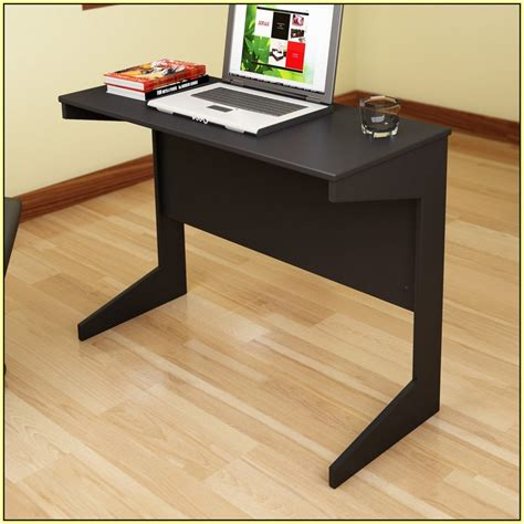 Slim Computer Desks Slim Computer Desk With Variants Of Design Homesfeed