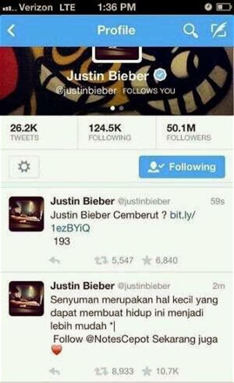 tutorial hack twitter orang waw twitter justin bieber di hack orang indonesia dhimas