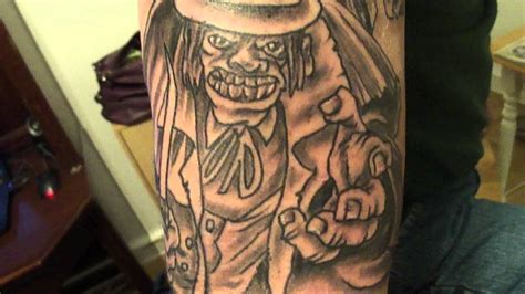 doctor jeckel mr hyde tattoo youtube