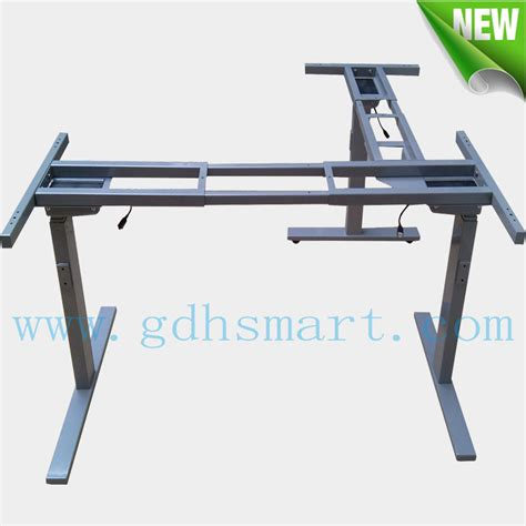 motorized stand up desk executive manager desk adjustable sit to stand up desk with electric columns motorized