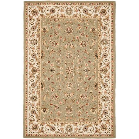 9 X 11 Area Rugs Safavieh Chelsea Ivory 8 Ft 9 In X 11 Ft 9 In Area Rug Hk78d 9 The Home Depot