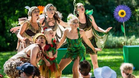 Shakespeare Botanical Gardens Melbourne The Australian Shakespeare Company Review The Wind In The Willows And Tinkerbell And The