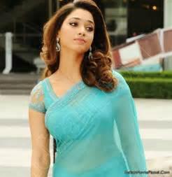 tamanna bhatia actress tamanna bhatia latest hot blue saree images