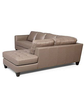 milano leather sectional milano leather 2 piece chaise sectional sofa