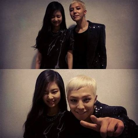 blackpink ugly g dragon reveals pictures with jennie kim backstage of