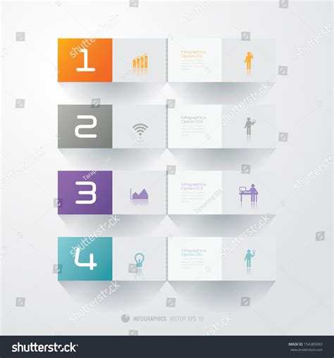 Stepping Design Templates infographics vector design template modern business step