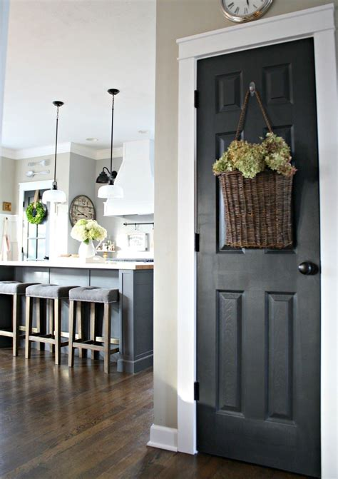 decorate interior doors the surprising color every room needs farmhouse chic