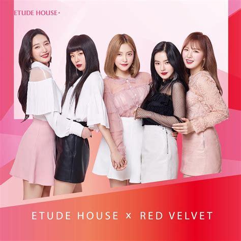 Resmi Etude House velvet terpilih sebagai wajah baru dari brand kosmetik