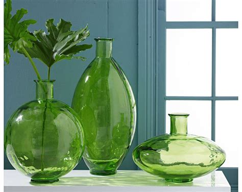 Home Decor For Cheap Wholesale by Vases Design Ideas Green Glass Vases Express Your Decor