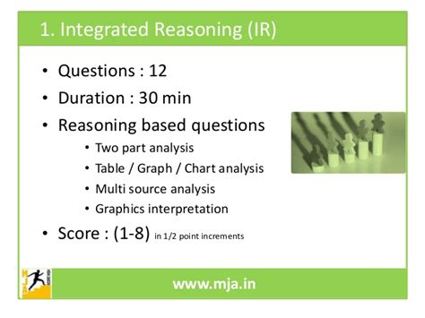integrated reasoning section all you need to know about the gmat ppt