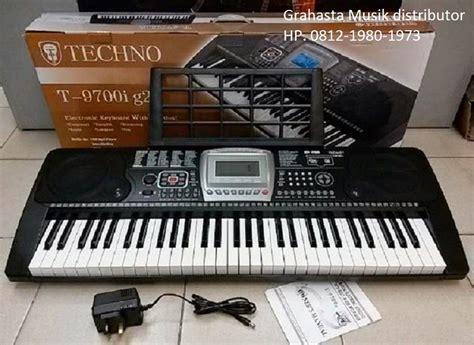Keyboard Techno T9700 G2 jual keyboard techno grahasta musik 081219801973 jual keyboard techno distributor di grahasta