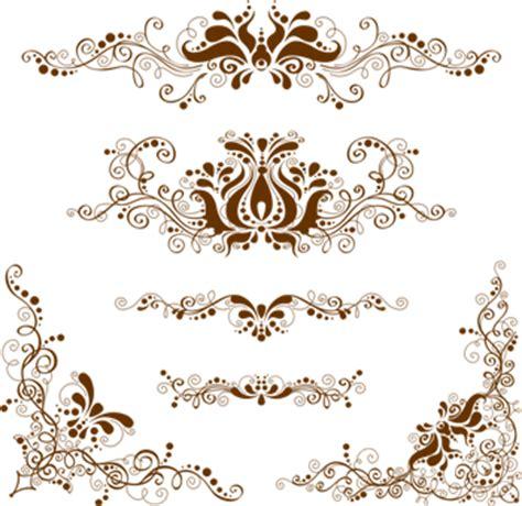 template ornamen undangan design vector art3 free download vector belajar coreldraw