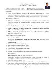 Mep Engineer Resume Sample engineer resume sample word format electrical engineering resume