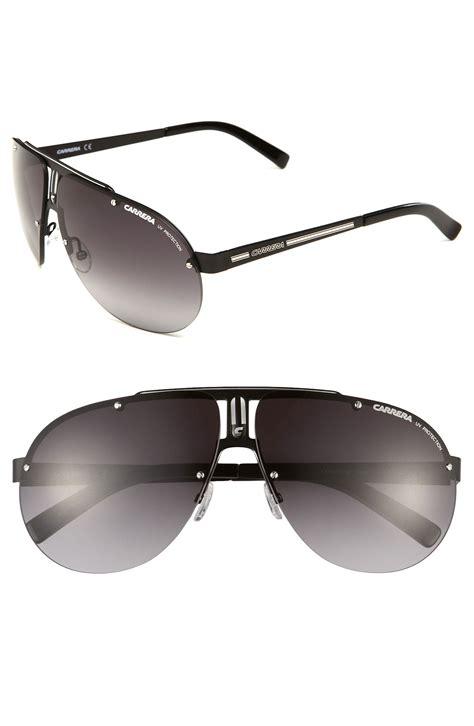 rimless aviator sunglasses eyewear rimless aviator sunglasses in black for