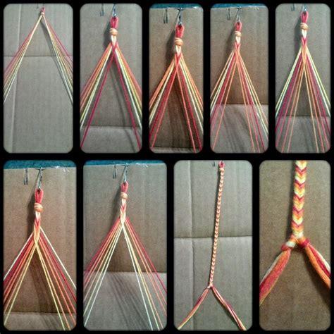 How Do You Do String - step by step fishtail braid bracelet diy inspiration