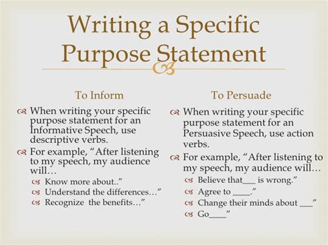 how to write a purpose statement for a research paper speech writing introduction and conclusion