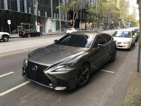 lexus commercial 2018 lexus ls while filming commercial in melbourne