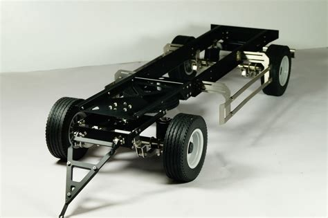 Tamiya Trailer 2 axles 1 14 scale trailer for tamiya and others