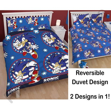 sonic bedroom sonic bed set sonic speed bedding sheet set walmart